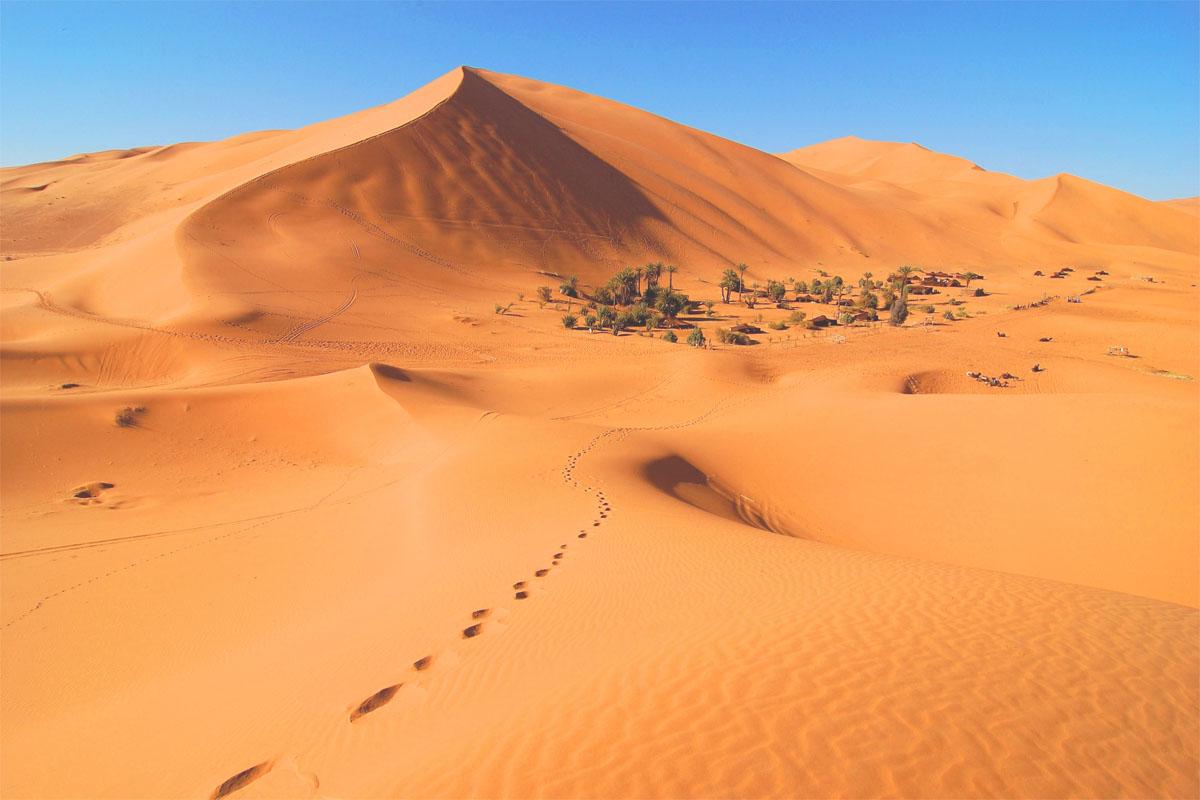 Fez desert Marrakech 4 days Tour